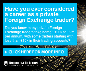 Knowledge to Action Forex Trader Training